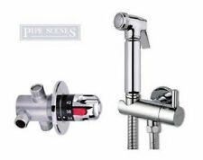 Bidet Douche Shower Hot and Cold Kit Mixing Valve included Shattaf Spray set