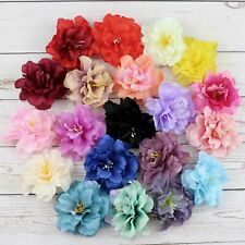 "Wholesale 100P Artificial Silk 3"" Fake Peony Flowers Heads Wedding Home Decor"