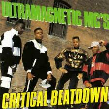 Ultramagnetic MC's: Critical Beatdown w/ Artwork MUSIC AUDIO CD hip hop 1988 rap