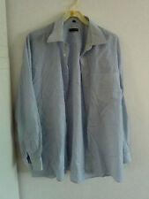 """""""Parick O´Connor"""", H. - Oberhemd, weiß blaue Streifen, Gr. 43, Baumwolle, Polyes"""