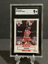 1990-91 Fleer, Michael Jordan #26, SGC 9 mint, Bulls