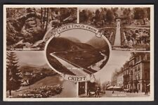 Scotland Perthshire CRIEFF Used 1942 M/view RP PPC
