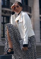 Zara SS19 Polka Dot Print Long Flowing A Line Maxi Skirt XS S M L XL REF 4043/06