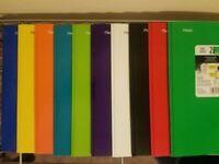 NEW (5 Pack) Mead Five Star 2 Pocket Folder w/Prong Fasteners & Stay-Put Folder