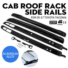 For 05-17 Toyota Tacoma Double Cab Roof Rack Side Rails Luggage Carrier Bar