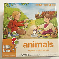 Thames & Kosmos Little Labs 8 Animals Beginner Experiment Kit Ages 5+ Sealed NEW
