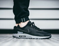 NIKE AIR MAX ZERO QS Running Trainers Gym Casual - UK 6 (EUR 40) Black / Black