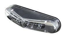 Mini Fanale posteriore LED Universal Vetro chiaro con Luce targa