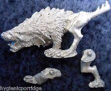 2003 chaos warhound 2 games workshop warhammer armée chien hell hound beast wolf gw