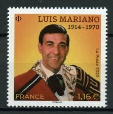 France Music Stamps 2020 MNH Luis Mariano Tenor Singers Famous People 1v Set