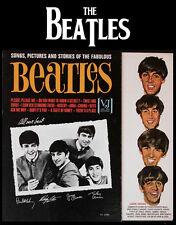 "The Beatles on VJ Photo Print 14 x 11"""