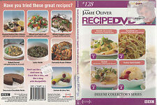 Jamie Oliver Recipe DVD:128-Deluxe Collectors Series-BBC 1996-Food Recipes-DVD