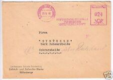 AFS, Kurmärkische Zellwolle und Zellulose Aktiengesellschaft, o Wittenberge 1949
