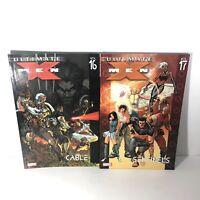 ULTIMATE X-MEN Lot Of 2 TPB 16 And 17 Marvel DC Comics Graphic Novel