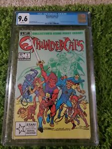 Thundercats #1 (1985) CGC 9.6 White Pages  Michelinie - Mooney - Breeding
