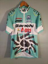 Cycling Jersey Cyclist Bianchi Agos MTB Sz L Sms Santini