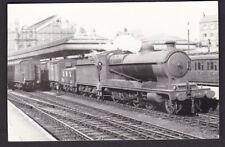 Nottinghamshire Notts Nottingham Victoria Station loco 5966 goods c1960s photo
