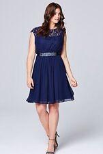 Coast Navy Lori Lee Lace Dress Size 12