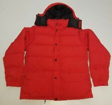 Vtg 80s Fire Red North Face Himalayan Down Baffin expedition Puffer winter coat