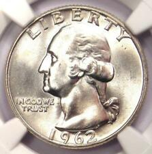 1962-D Washington Quarter 25C Coin - NGC MS67 - Rare in MS67 - $10,200 Value!