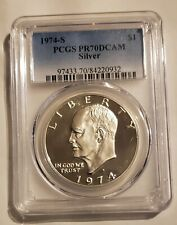 1974-S Silver Eisenhower Dollar PCGS PR70DCAM
