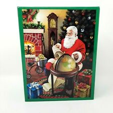 Brother Sister Designs Oversized Jigsaw Puzzle Christmas Party 500 Pc Santa