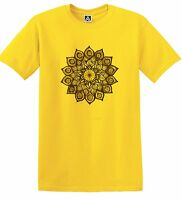 Flower Henna T-shirt Indie Hipster Tattoo Geometric Dreamcatcher UNISEX Tee