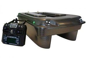 CARP MADNESS Futterboot  Set Bausatz CM X-Jet Carbon  Baitboat Köderboot 2,4 GHz