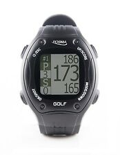 POSMA GT1 Golf Trainer GPS Golf Watch Range Finder Preloaded Golf Courses-black