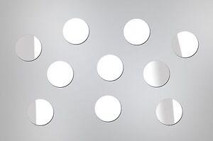 Removable Acrylic Mirror Wall Decal - 25 Pcs - Modern Home Decor Circle Sticker