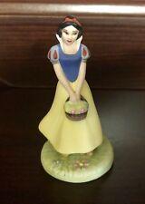 RARE Disney Grolier Princess Snow White Ceramic Porcelain Figure Statue