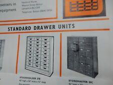 Office Equipment Folding 1960S Brochuure Weston St Bolton Brown