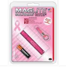 MAGLITE K3AMW6 National Breast Cancer Solitaire Flashlight, Pink
