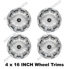 16 Inch Wheel Trim Hub Cap Cover with emblem 16/405 For MERCEDES VITO