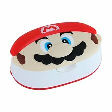 Super Mario Wet Tissue With Case (80 pieces) JAPAN Body Face Hand Clean
