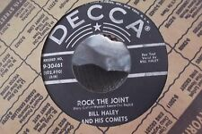 45A BILL HALEY AND HIS COMETS HOW MANY / ROCK THE JOINT ON DEECA RECORDS W/ PAPE