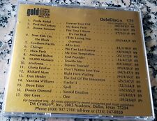 GOLDDISC Rare Radio Promo 171 CD Bee Gees Donna Summer Deon Estus NKOTB + more