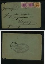 Orange  River  Colony 2,4 on cover to  Germany         MS0322