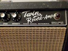 Fender Twin Reverb - Vintage