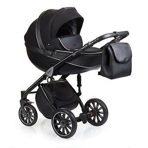 Anex Sport Kinderwagen | Set 3 in 1 | Kombikinderwagen | Babywanne + Maxi Cosi