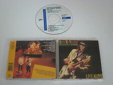 Stevie Ray Vaughan and Double Trouble/Live Alive (Epic EPC 450238 2) CD Album