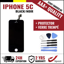 AAA+ LCD TOUCH SCREEN SCHERM ÉCRAN BLACK NOIR & VERRE TREMPÉ+TOOLS FOR IPHONE 5C