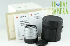 Leica SUMMICRON-M 50mm F/2 E39 Lens In Silver for M Mount With Box #11435F2