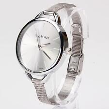 Fashion Classic Women Lady Quartz Stainless Analog Wrist Watch Bracelet New XG5