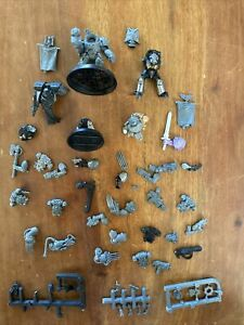 Warhammer 40k Space Marines Army Project Bits Lot Games Workshop Auction !!!