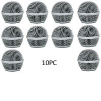 10pc Ball Head Mesh Microphone Grille Accessories for Shure BETA58 SM58 SM58LC