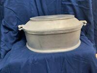 Vintage GUARDIAN SERVICE Cast Aluminum Cookware Roaster w/ Serving Tray/Lid