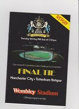 1981 F.A.Cup Final REPLAY.Man.City v Tottenham Hotspur.