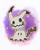 Ultra Pokemon Sun and Moon Halloween Time: Shiny Mimikyu Event 6IV-EV Trained