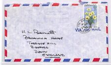 XX296 1975 FALKLAND ISLANDS Fox Bay Cover Commercial Airmail